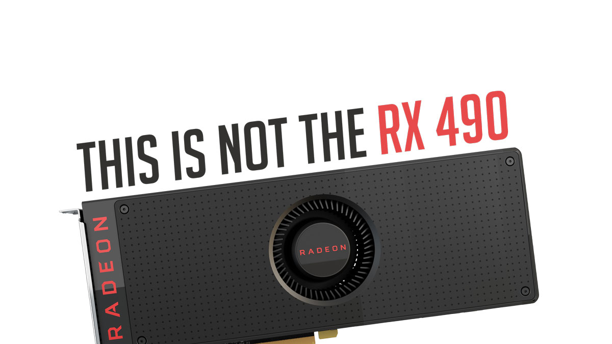 AMD Accidentally Listed Radeon RX 490 On a Promotion