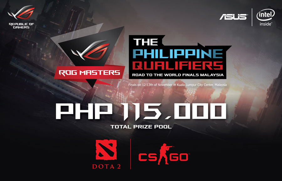 ASUS Reveals PH Qualifiers for the ROG Masters 2016