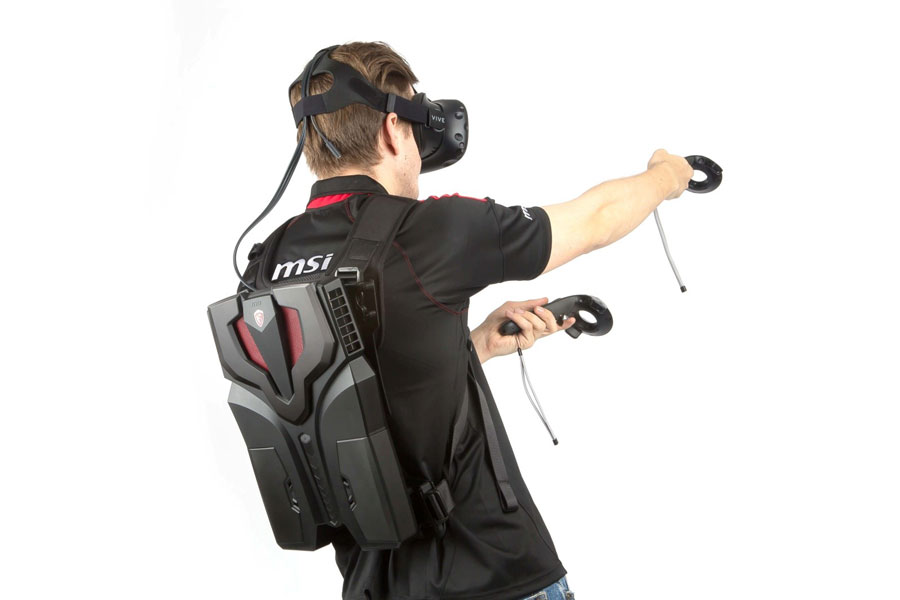 MSI To Unveil VR Backpack At Tokyo Game Show 2016