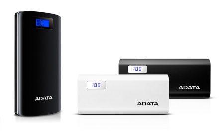 ADATA Unveils P20000D & P12500D Digital Display Power Banks
