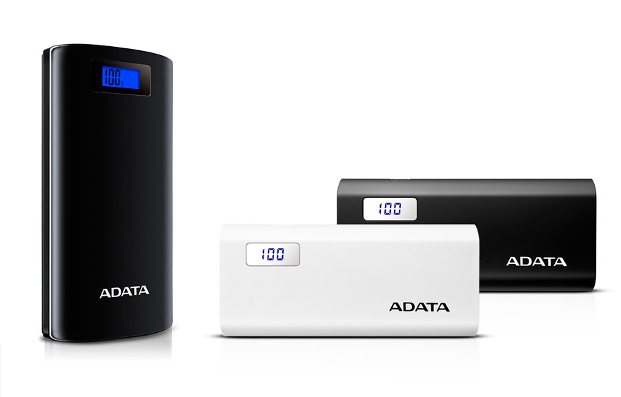 ADATA Unveils P20000D & P12500D Digital Display Power Banks