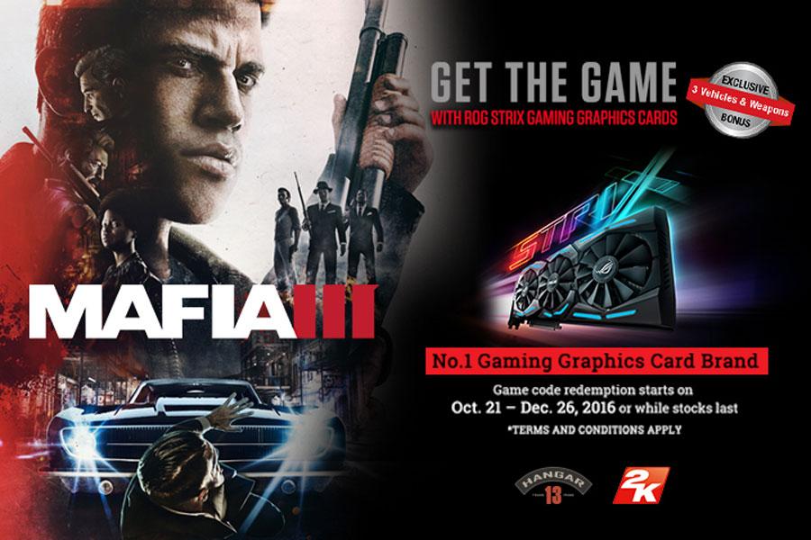 ASUS Philippines Announces Mafia III Game Bundles