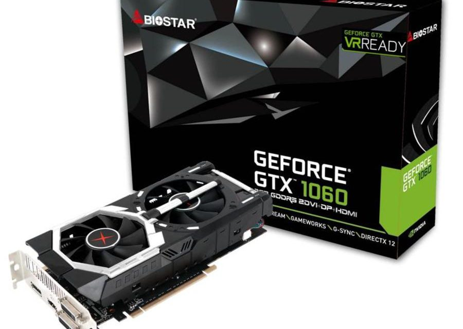 BIOSTAR Announces Their Own GTX 1060 Graphics