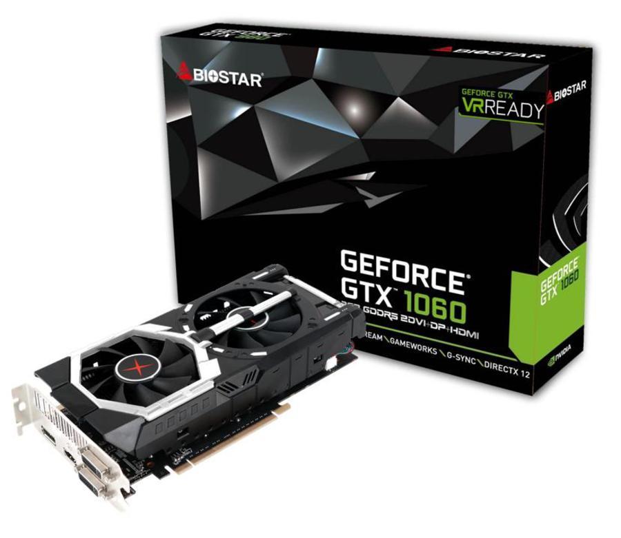 BIOSTAR Announces Their Own GTX 1060 Graphics