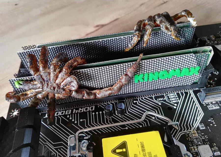 KINGMAX DDR4 Memory Kit Modded by Jengki