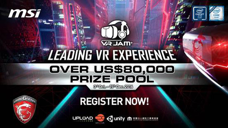 MSI VR JAM Allows Game Developers To Compete For $80,000 Prize Pool