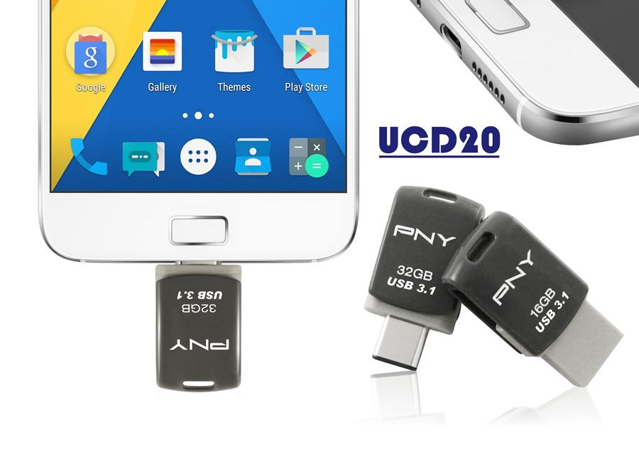 PNY Releases Type-C OTG Flash Drives
