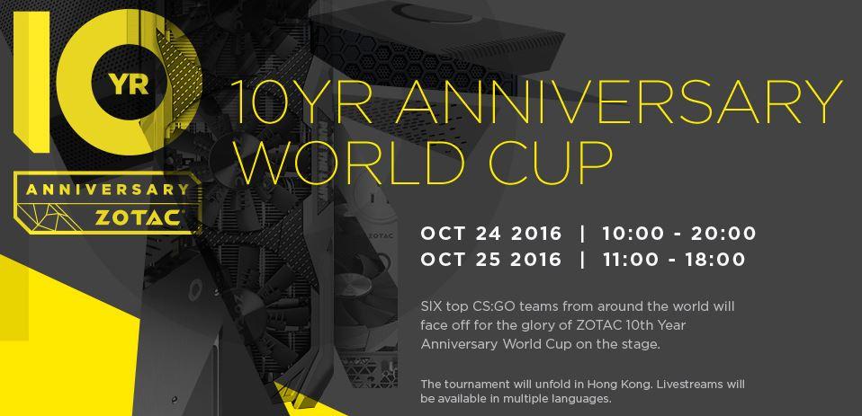 ZOTAC 10th Anniversary Update: CS:GO Invitational