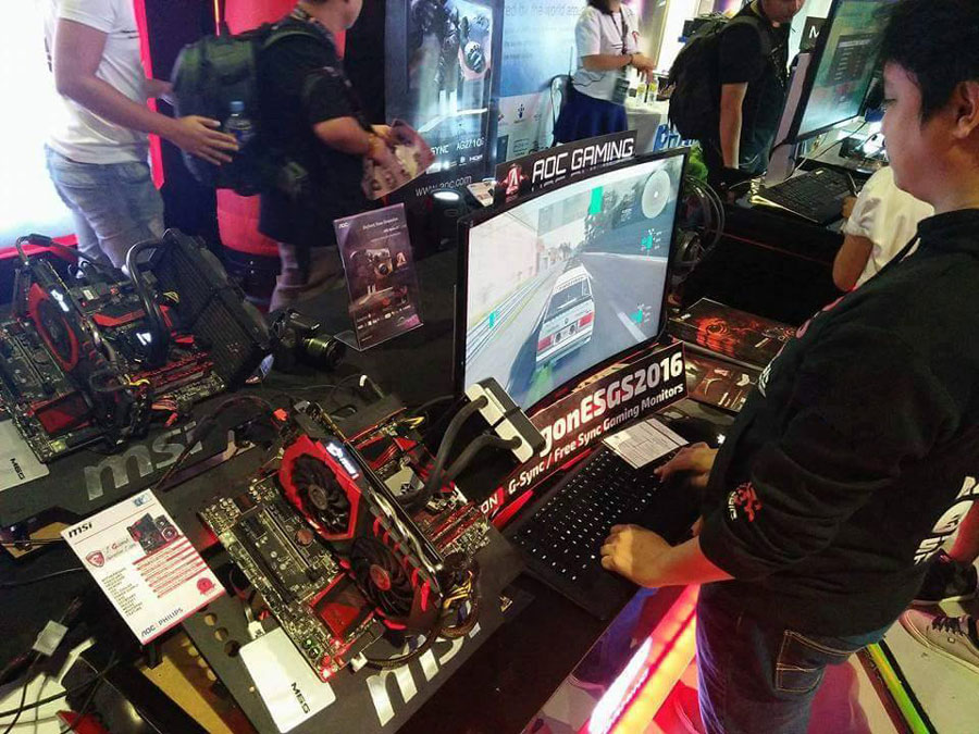 AGON by AOC Offers Silky Smooth Gaming Experience at ESGS 2016