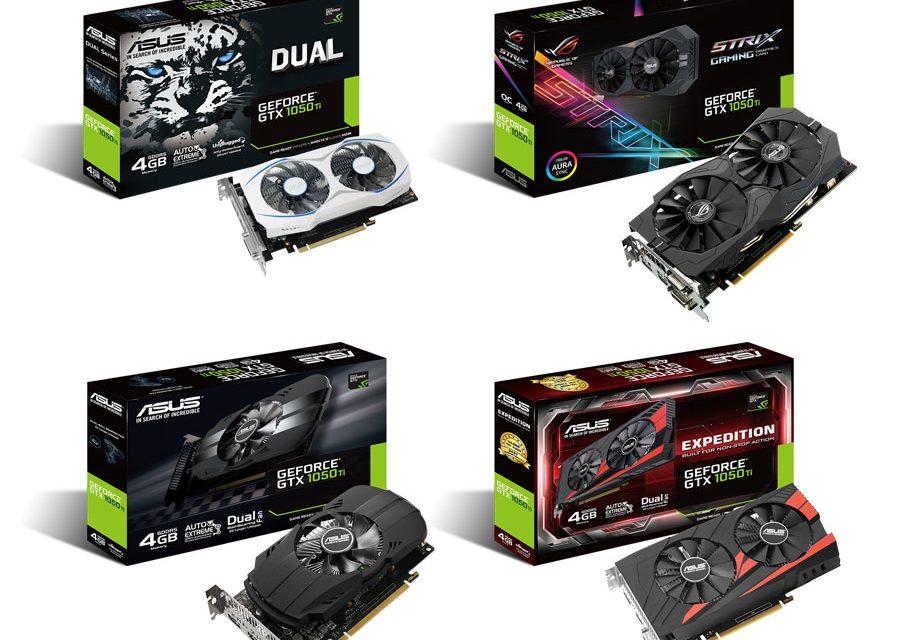 ASUS Announces Their Full GTX 1050 Lineup