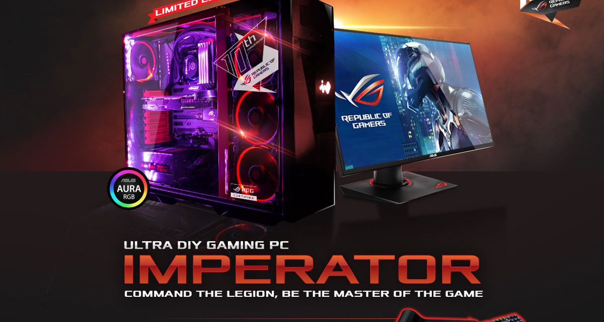 ASUS ROG Announces the ROG Imperator Ultra Gaming DIY PC