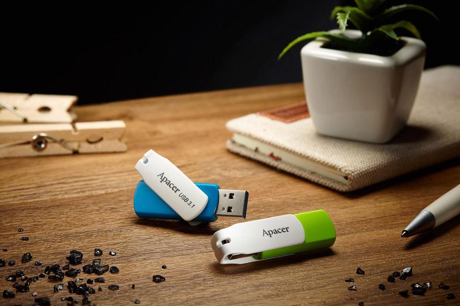 Apacer Debuts USB 3.1 AH357 and USB 2.0 AH335 Flash Drives