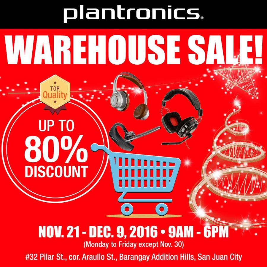 Warehouse Sale Features Plantronics Edifier and Altec Lansing