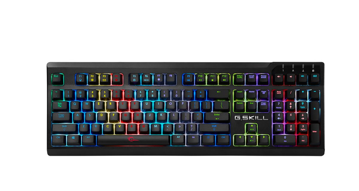 G.SKILL Releases RIPJAWS KM570 RGB Mechanical Gaming Keyboard