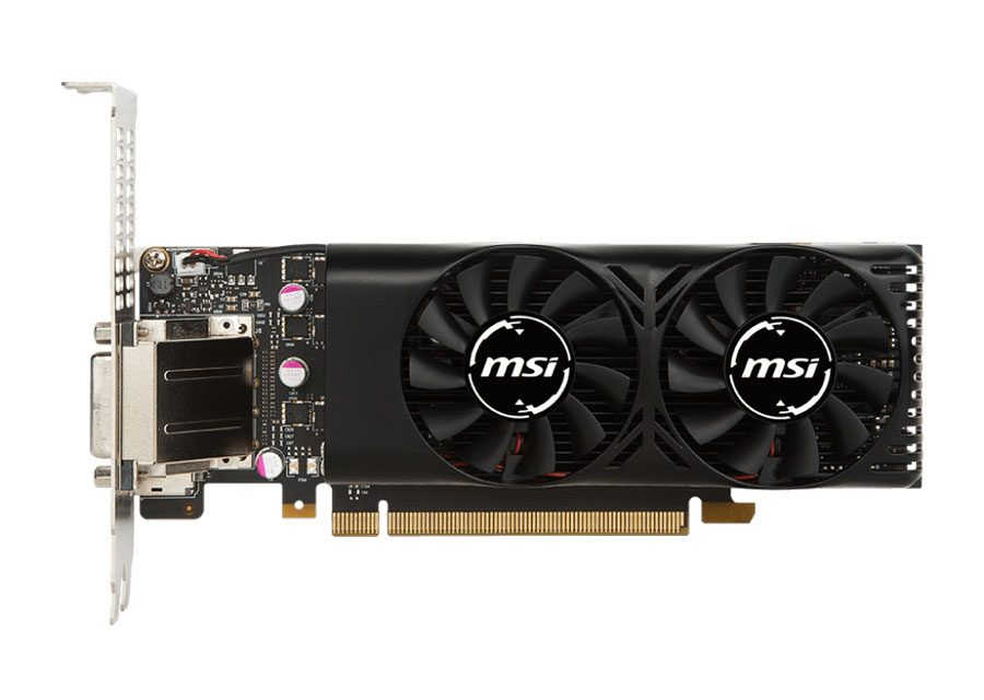 MSI Releases World's First Low Profile GTX 1050 Models