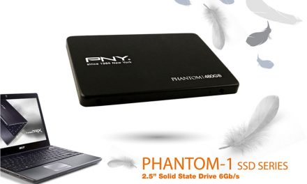 PNY Launches The Phantom-1 SSD With TLC NAND Technology