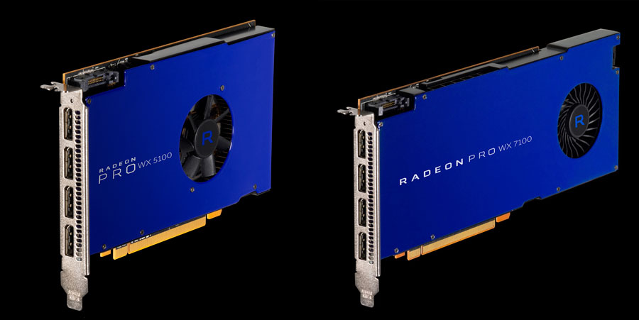 AMD Announces The Availability of Radeon Pro WX GPUs