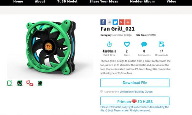 Thermaltake and 3D Hubs Announce 3D Printing Partnership