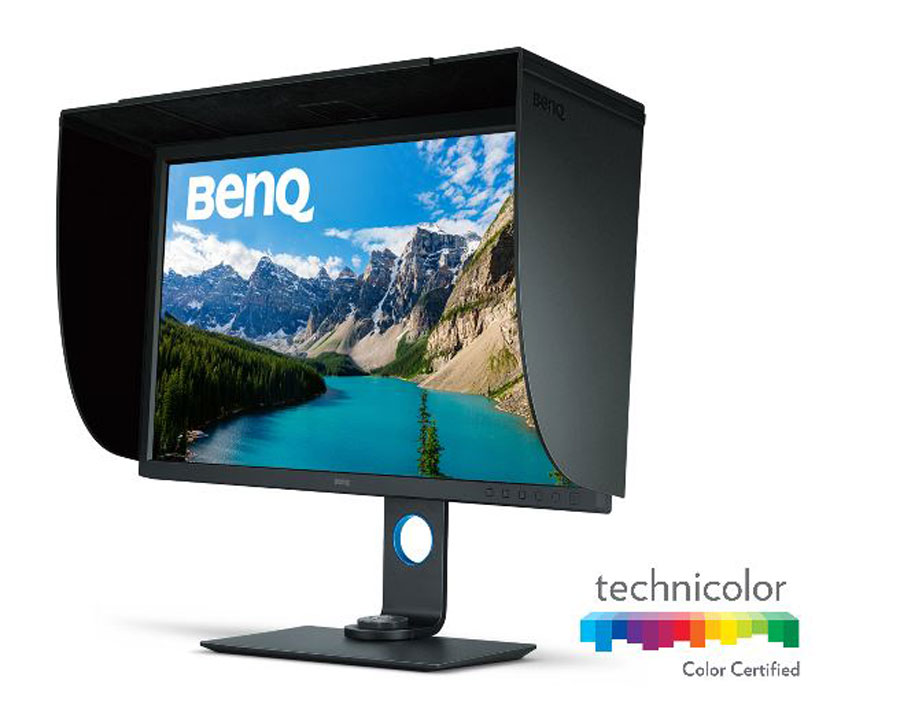 BenQ Announces The SW320 Flagship Photographer Monitor