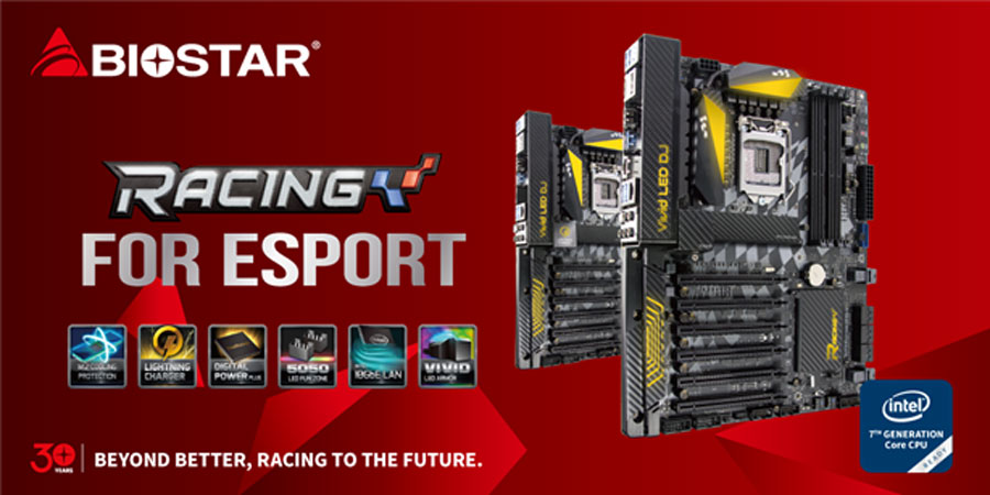 BIOSTAR Announces 2nd Gen Racing Series Motherboard Features