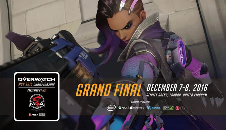Overwatch MGA 2016 Grand Finals Ready to Kick Off