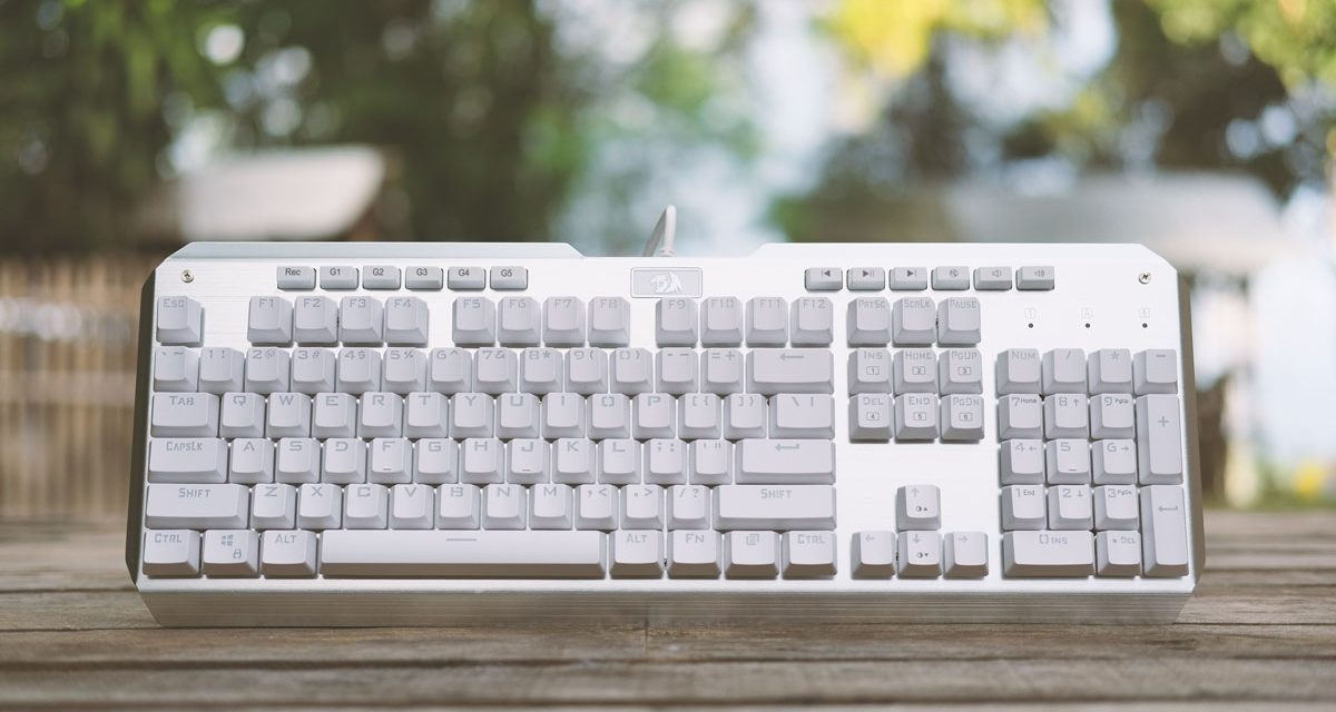REDRAGON Indrah White RGB Mechanical Keyboard Review
