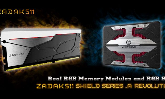 ZADAK511 SHIELD RGB DDR4 & SSD Is Compatible with Latest Intel Platforms