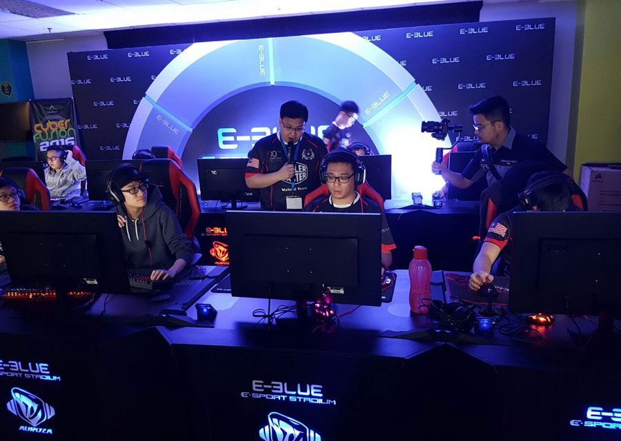 E-Blue E-Sports Stadium Makes Debut at Malaysia's CyberFusion 2016