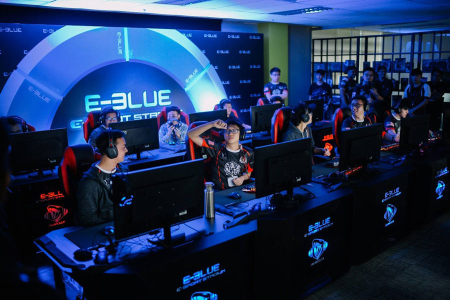E Blue E Sports Stadium Makes Debut At Malaysia S