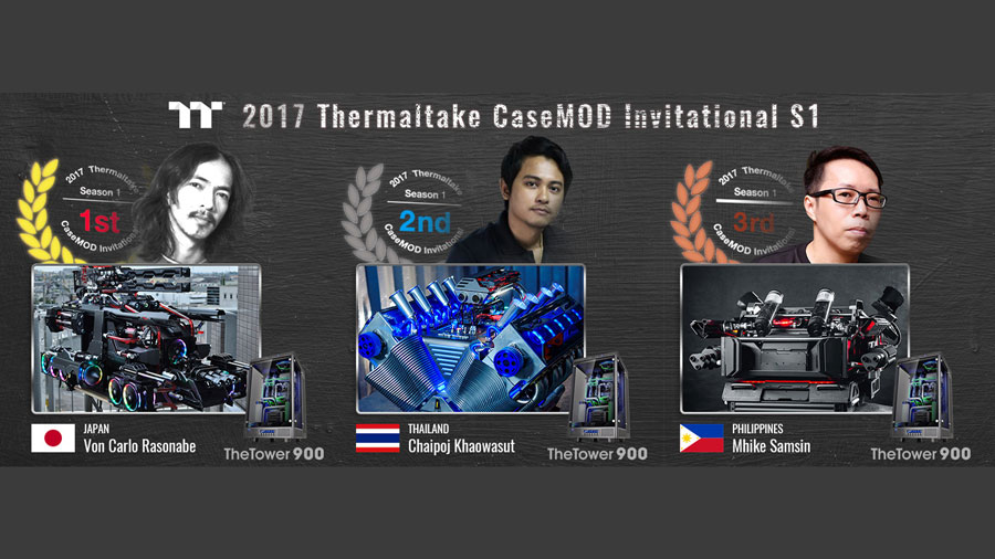 2017 Thermaltake CaseMOD Invitational Season 1 Winner Announcement