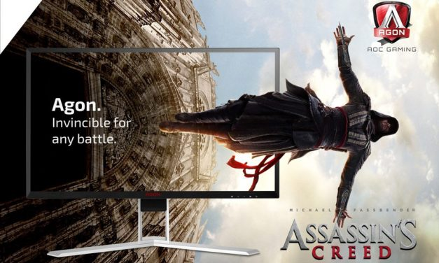 AOC Partners Up With Assassins Creed Movie Promotion