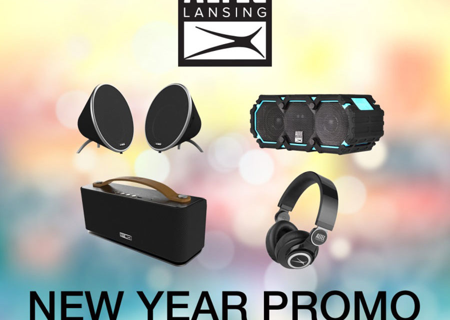 ALTEC Lansing PH Announces New Year Promotion