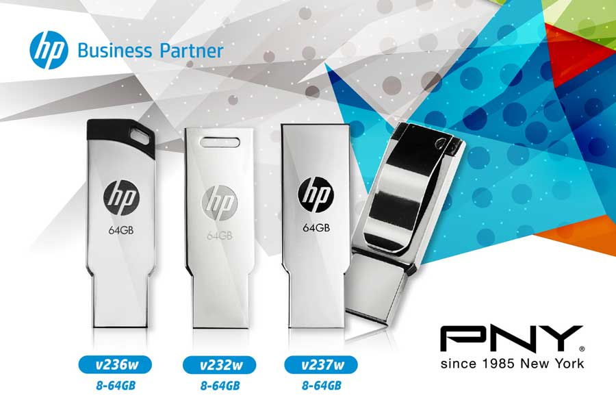 PNY Releases Stylish HP V236W V232W V237W USB Flash Drives