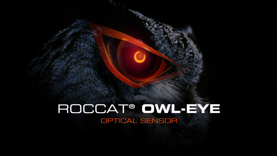 ROCCAT Introduces The Owl-Eye Optical Sensor