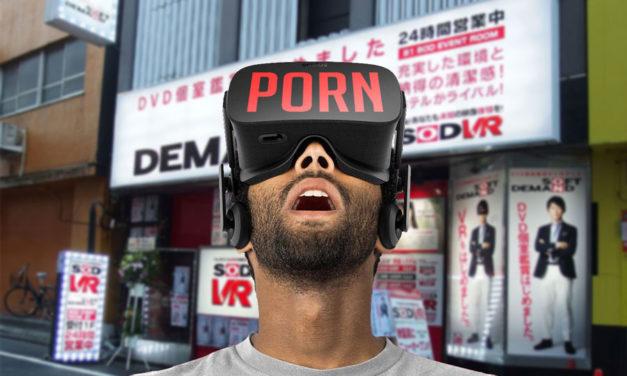 Porn VR Room Opens Up at Tokyo, Japan