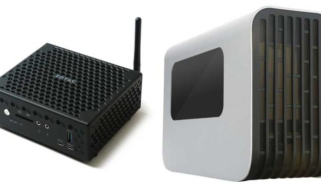 ZOTAC Reveals ZBOX C and External Graphics Dock