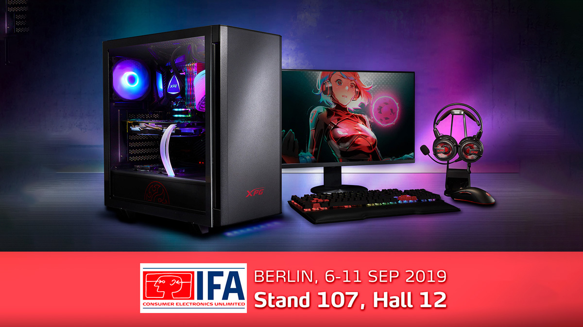 XPG to Unveil World's First 4D Gaming Mouse and More at IFA Berlin 2019