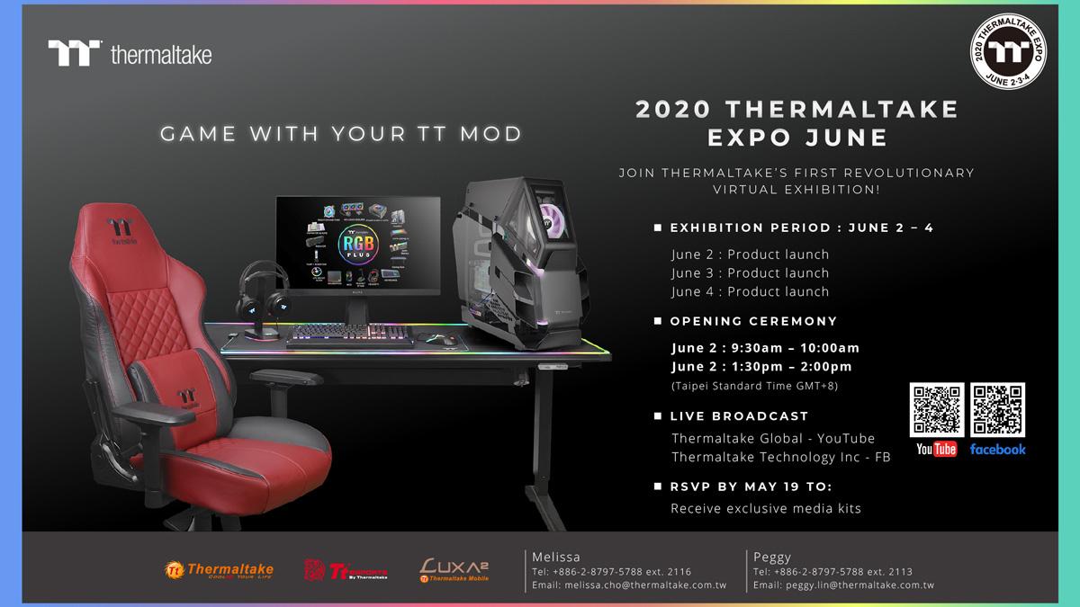 Thermaltake Readies Virtual Expo this June