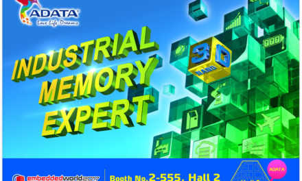 ADATA Showcases Full Industrial Product Range at Embedded World 2017