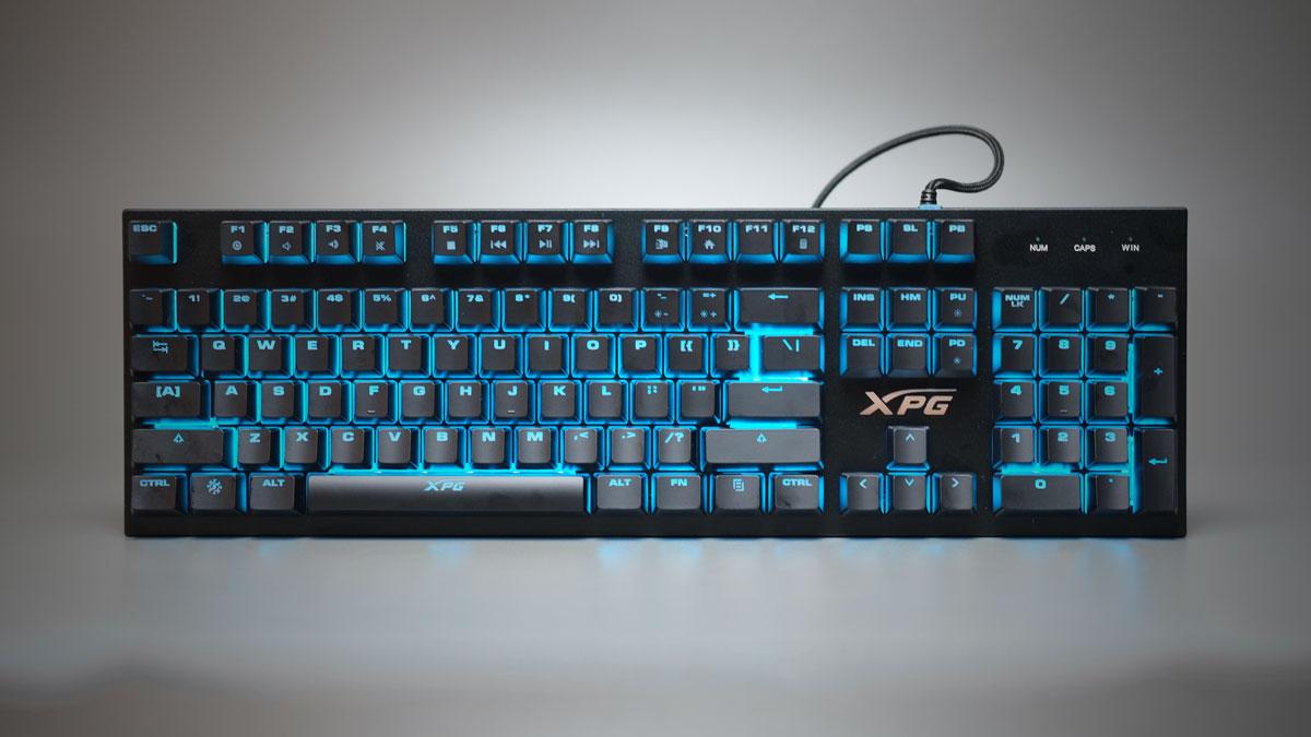 Review   ADATA XPG INFAREX K10 RGB Gaming Keyboard
