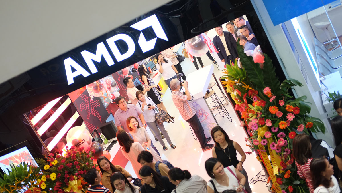 A Quick Tour Inside The AMD Concept Store