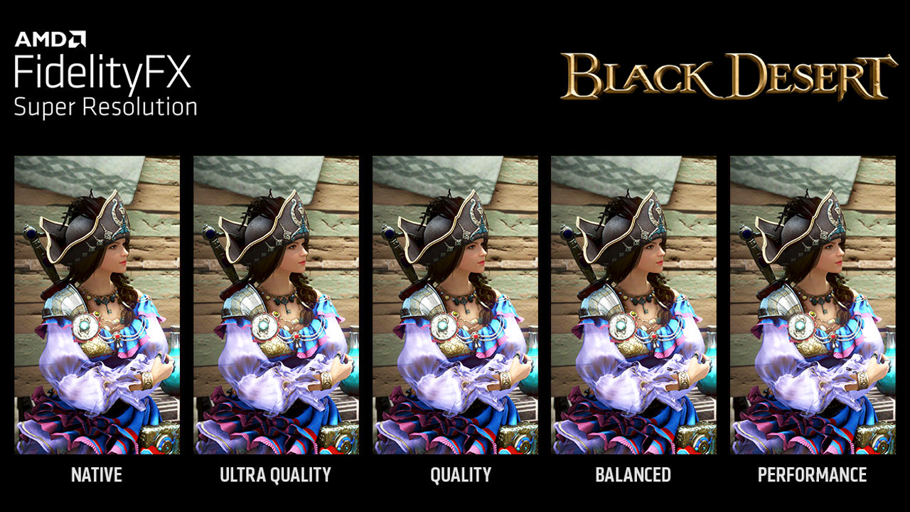 Pearl Abyss Adds AMD FSR Support to Black Desert