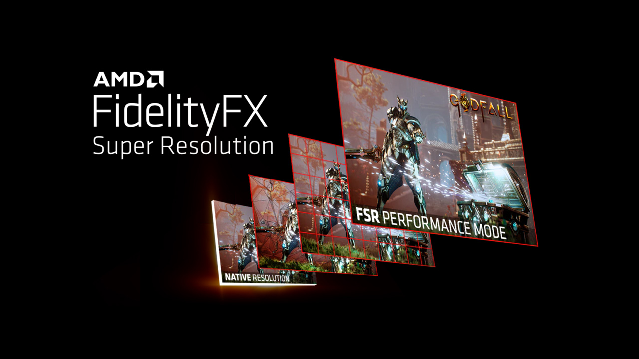 AMD FidelityFX Super Resolution (FSR) Now Available