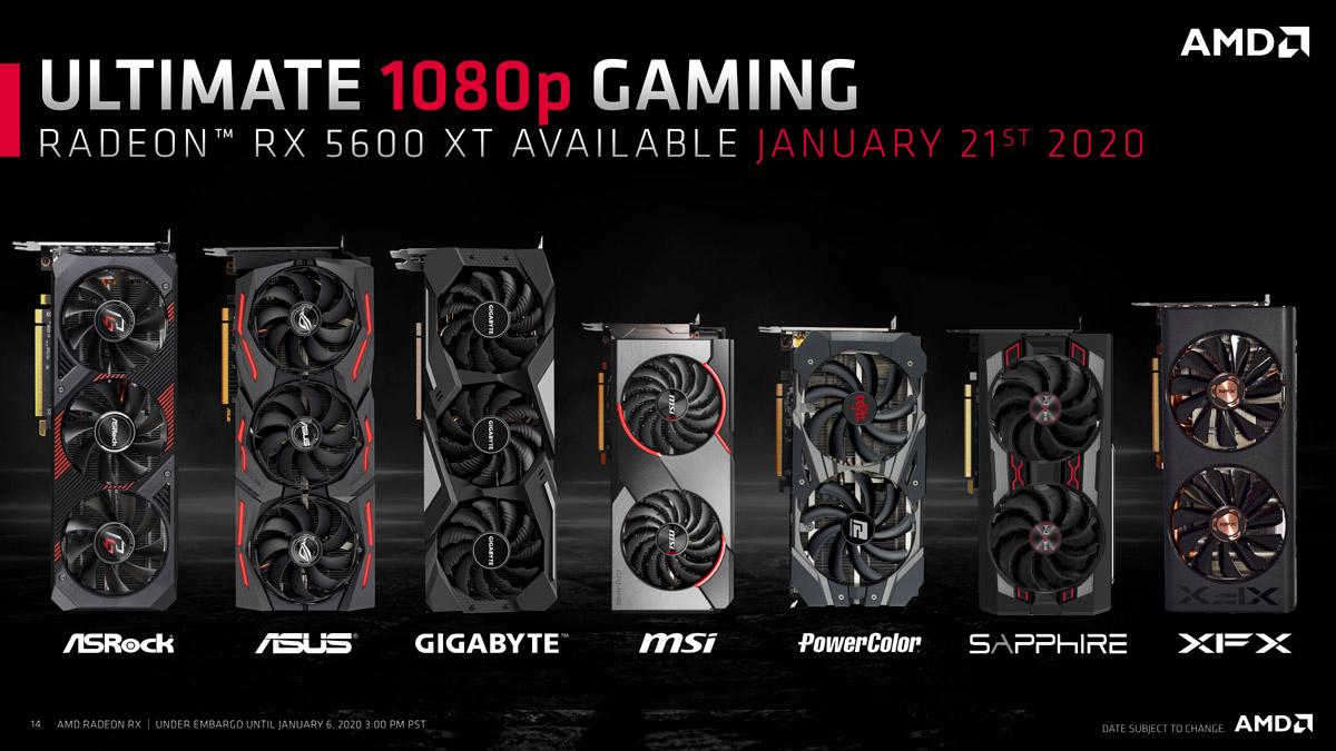 AMD UnveilsRadeon RX 5600 XT at CES 2020