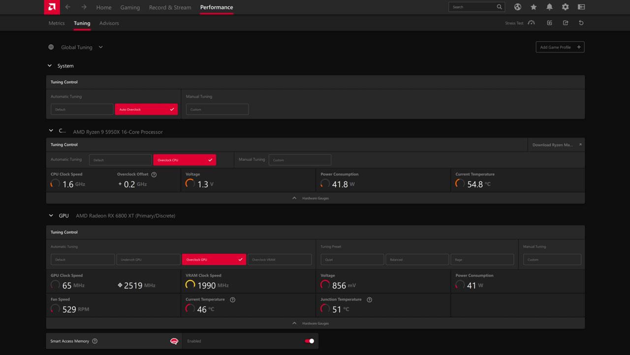AMD Radeon Software Adrenalin 21.9.1 Brings Auto OC Feature
