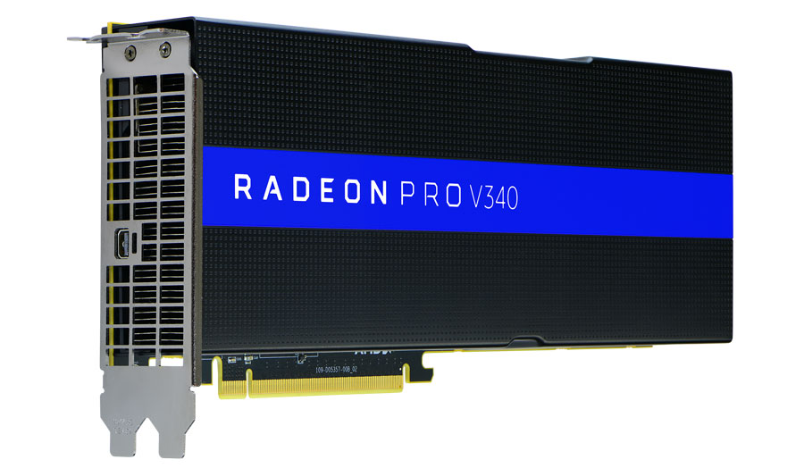 AMD Introduces Radeon Pro V340 Graphics for Datacenters