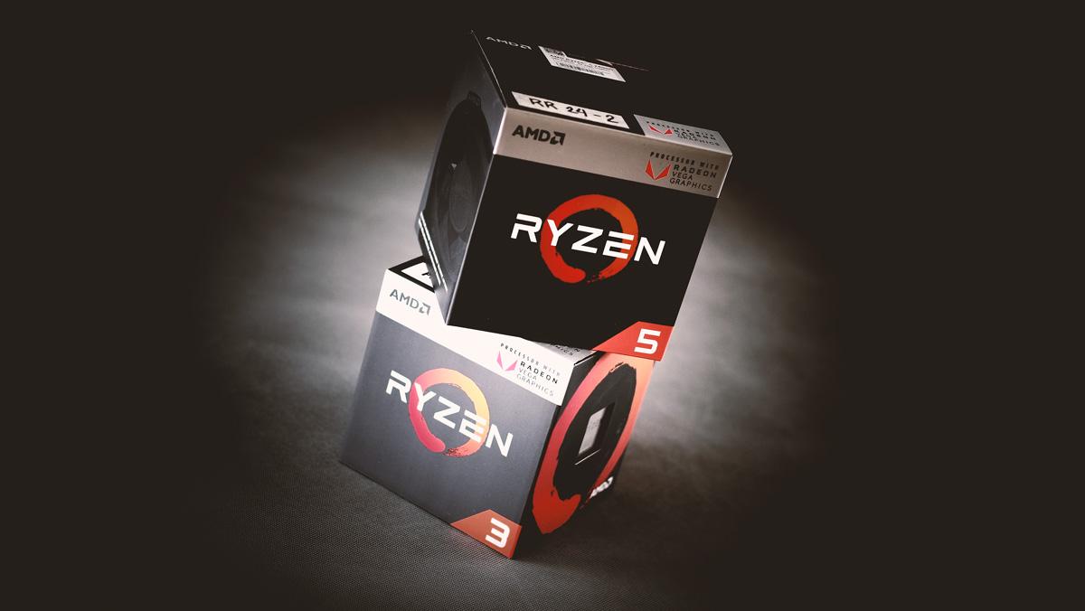 AMD Details Ryzen 3 2200G and Ryzen 5 2400G Pricing