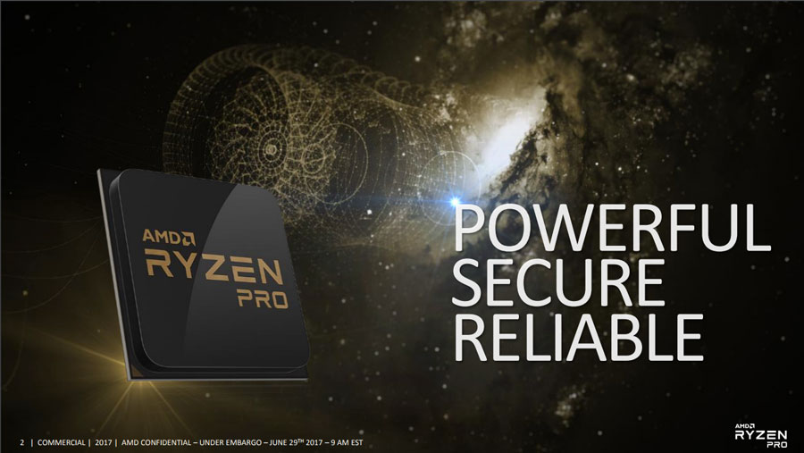 AMD Announces The Business Class Ryzen PRO Family