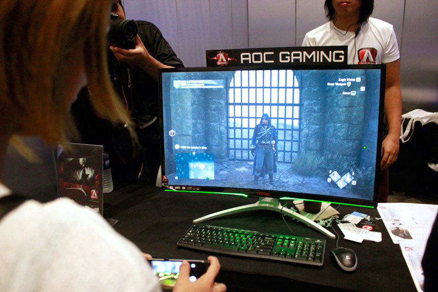 AOC AGON Held Special Assassin's Creed Movie Screening