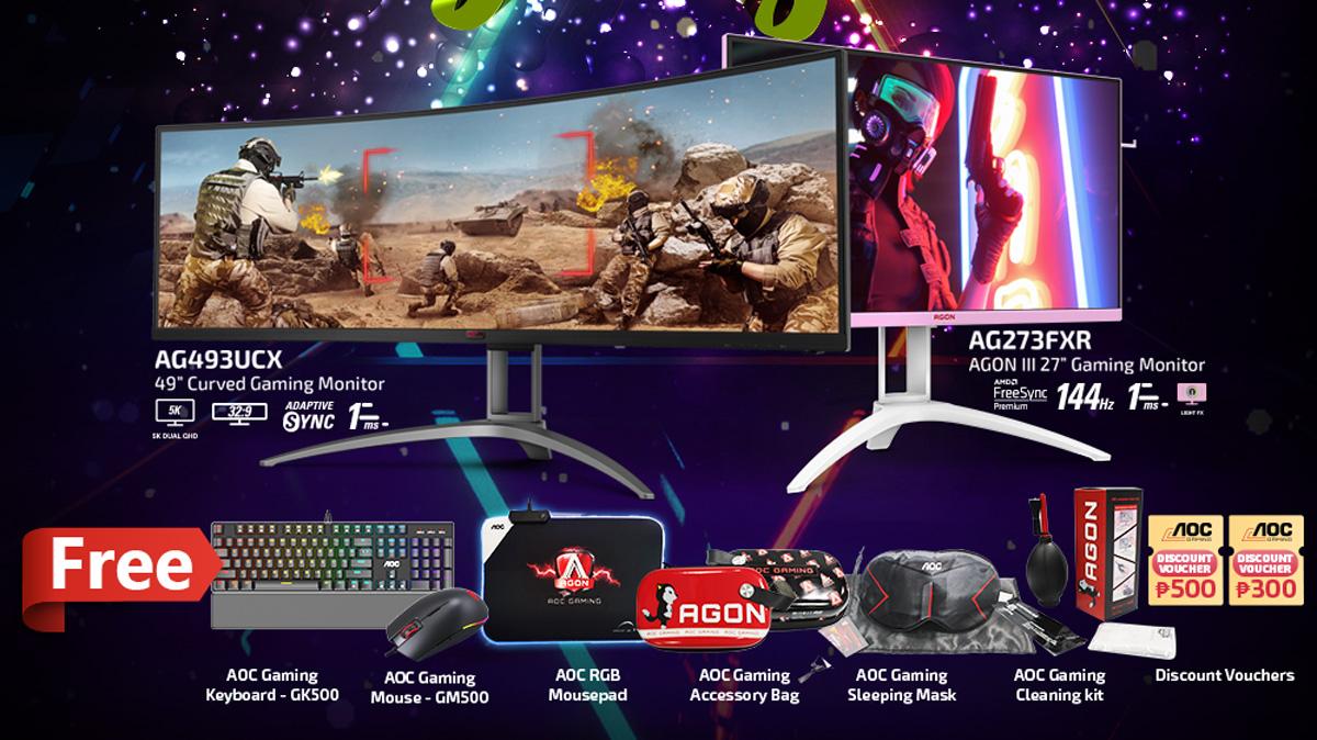 Enjoy Bundles of Joy with AOC Monitors Christmas Promo